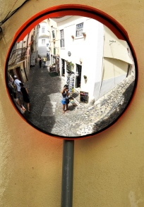 Reflection, Lisbon, Portugal