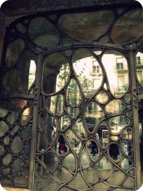 Window, La Pedrera, Barcelona