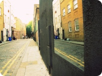 Street Mirror, Brick Lane, London
